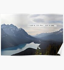I Touched the Sky - Hillsong United Poster