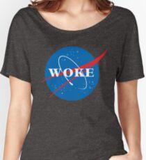 NASA Woke Women's Relaxed Fit T-Shirt