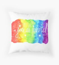 Joie de Vivre! - Joy of Life Throw Pillow