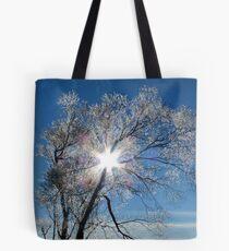Fairy Dust - Tree Coated In Hoar Frost - Gore NZ Tote Bag