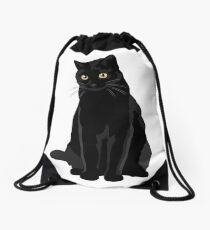 Schwarze Katze Turnbeutel