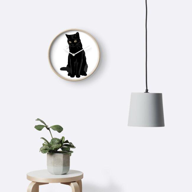 Schwarze Katze von bluhak