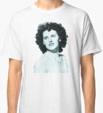 Black Dahlia Digital Painting Classic T-Shirt