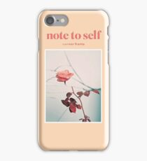 Connor Franta Note to Self iPhone Case/Skin