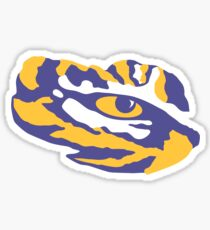 LSU Tiger Eye Sticker