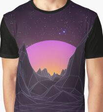 80s Retro Vaporwave Graphic T-Shirt
