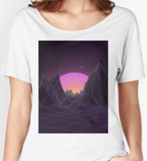 80s Retro Vaporwave Women's Relaxed Fit T-Shirt