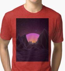 80s Retro Vaporwave Tri-blend T-Shirt