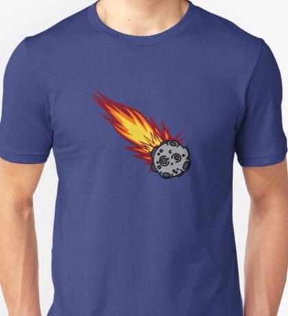 Flaming Meteor or Comet T-Shirt