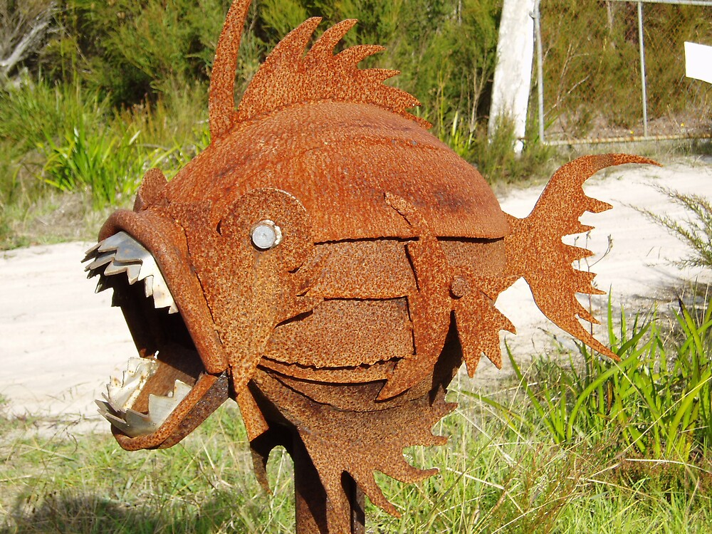 freaky fish by normab
