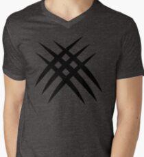 Wolverine Sign Mens V-Neck T-Shirt