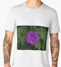 Purple Pinwheel Men's Premium T-Shirt