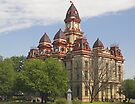 Courthouse, Lockhart, Texas by Tamas Bakos