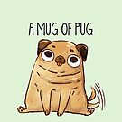 A Mug Of Pug by michelledraws