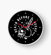 Death Before Decaf Clock