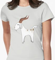 Spotted Goats Womens Fitted T-Shirt