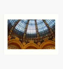 Galeries Lafayette Art Print