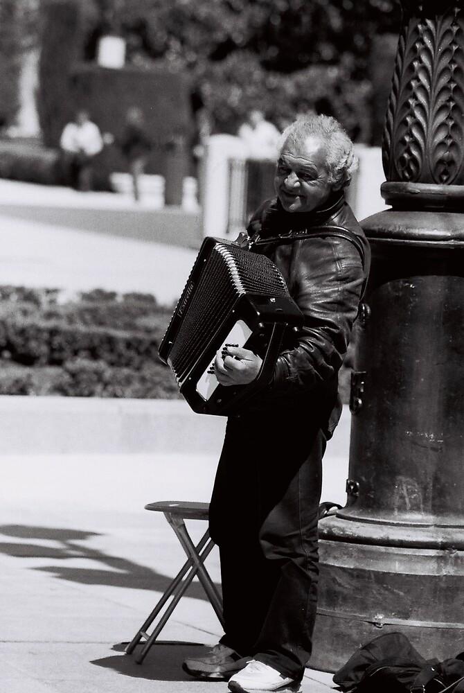 Spanish Music Man by Tara Dumont