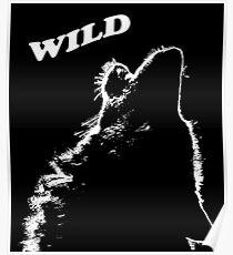 Loup hurleur Poster