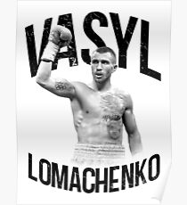 Vasyl Lomachenko Poster