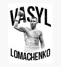 Vasyl Lomachenko Photographic Print
