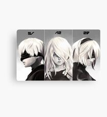 Nier Portrait Set Canvas Print
