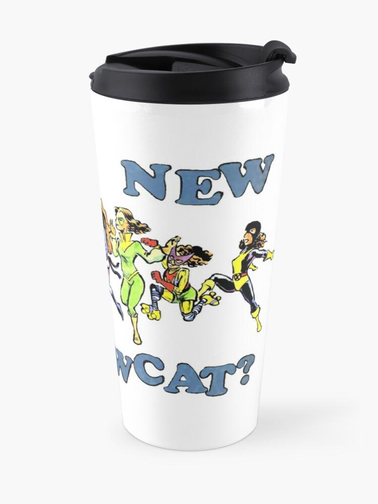 Alternate view of What's New, Shadowcat? Travel Mug