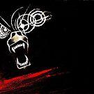 Demon Bear Travel Mug by rachelandmiles