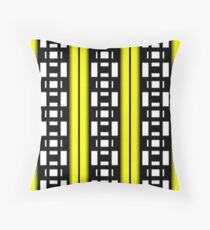 PATTERNATION|YELLOW ALERTNESS| RB EXCLUSIVE Throw Pillow