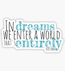 Harry Potter // Dreams Sticker