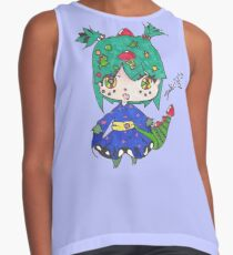 Dragon chibi girl  Contrast Tank