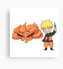 Naruto Kurama Canvas Print