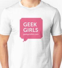 GEEK GIRLS logo Unisex T-Shirt