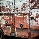 Fire Truck Has Seen Better Days by Ricky Pfeiffer