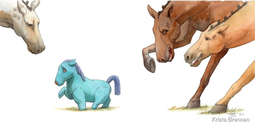 The Dressage Pony by Krista Brennan