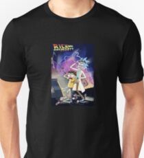 Rick & Morty Go Back To The Future Unisex T-Shirt
