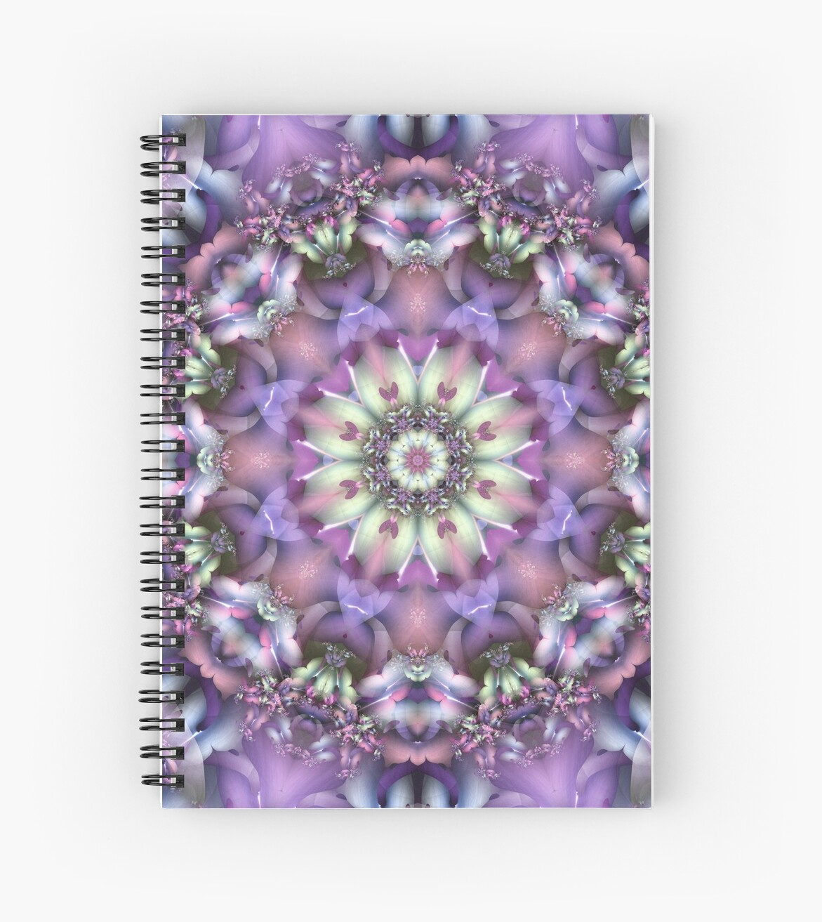 Lilac Mandala by Kelly Dietrich