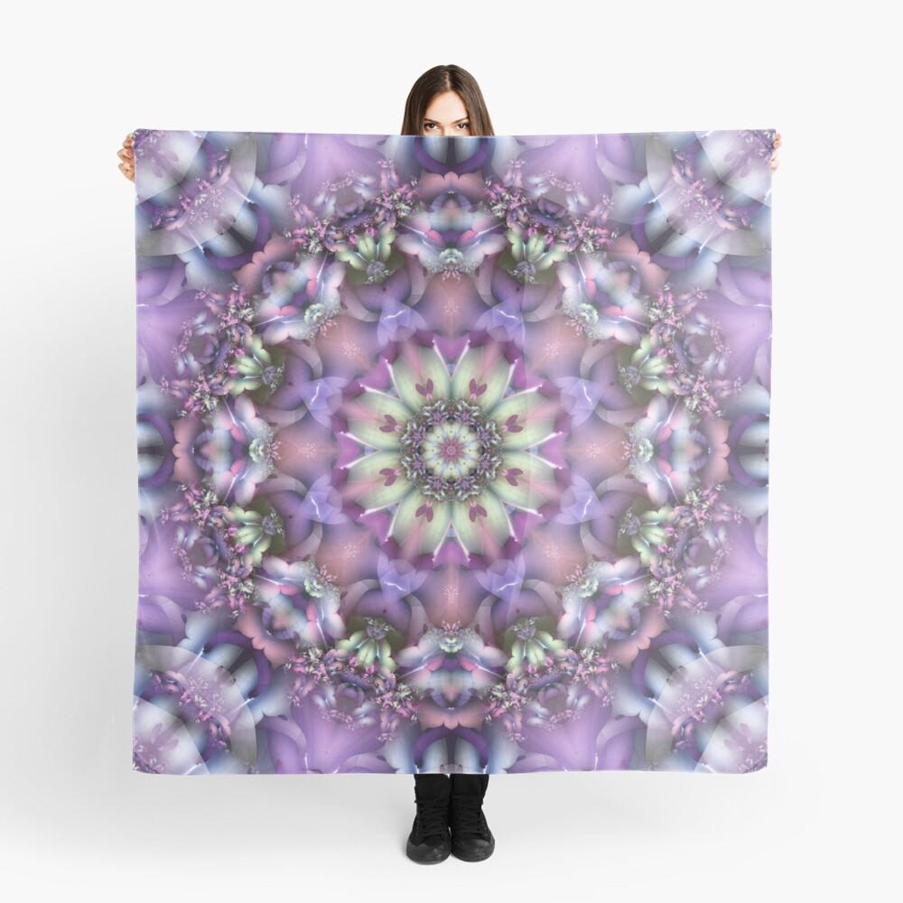 Lilac Mandala Scarf
