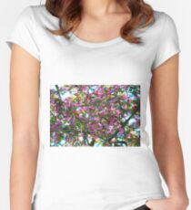 Blossoms 2 Women's Fitted Scoop T-Shirt