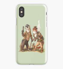 Steampunk Weasels iPhone Case