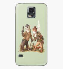 Steampunk Weasels Case/Skin for Samsung Galaxy
