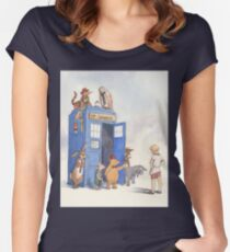 Doctor Pooh Fitted Scoop T-Shirt