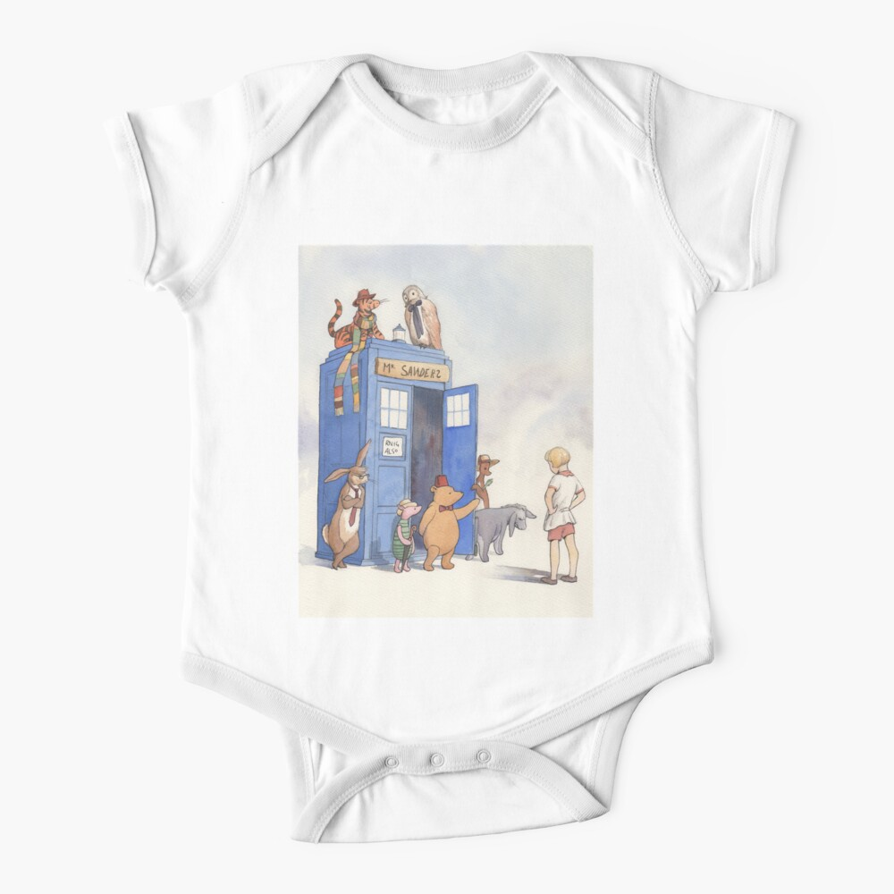 Doctor Pooh Baby One-Piece