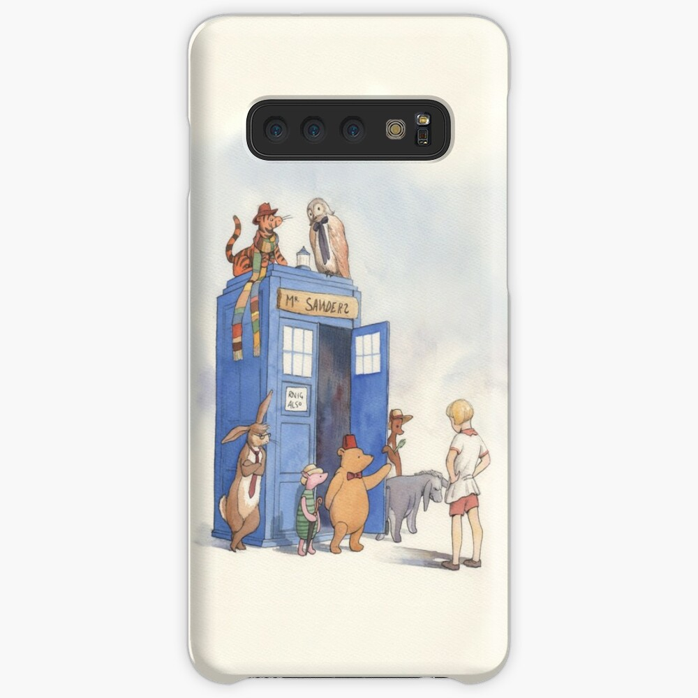 Doctor Pooh Case & Skin for Samsung Galaxy