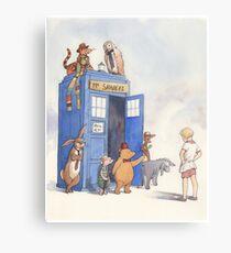 Doctor Pooh Metal Print