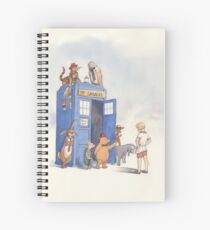 Doctor Pooh Spiral Notebook
