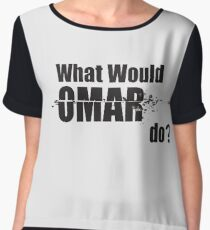 "What Would Omar Do? ""The Wire"" Chiffon Top"