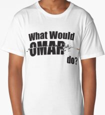 "What Would Omar Do? ""The Wire"" Long T-Shirt"