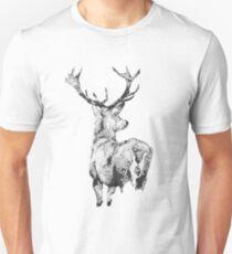 Stippling Deer Unisex T-Shirt