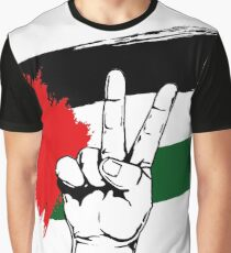 PEACE PALESTINE Graphic T-Shirt